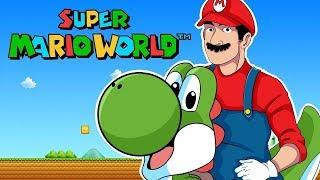 Primer Nivel Dificil | Super Mario World Ep. 4 |