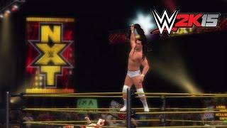 WWE 2K15: Who Got NXT walkthrough — Bo Dallas vs. Cesaro