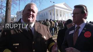 "USA: Thousands rally against Virginia""s gun control bill in Richmond"