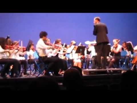 Great Woods Chamber Orchestra Wheaton College MA Concert- Most of Mendelssohn Wedding March