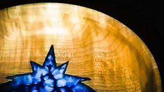 Woodturning the Christmas Nativity Bowl