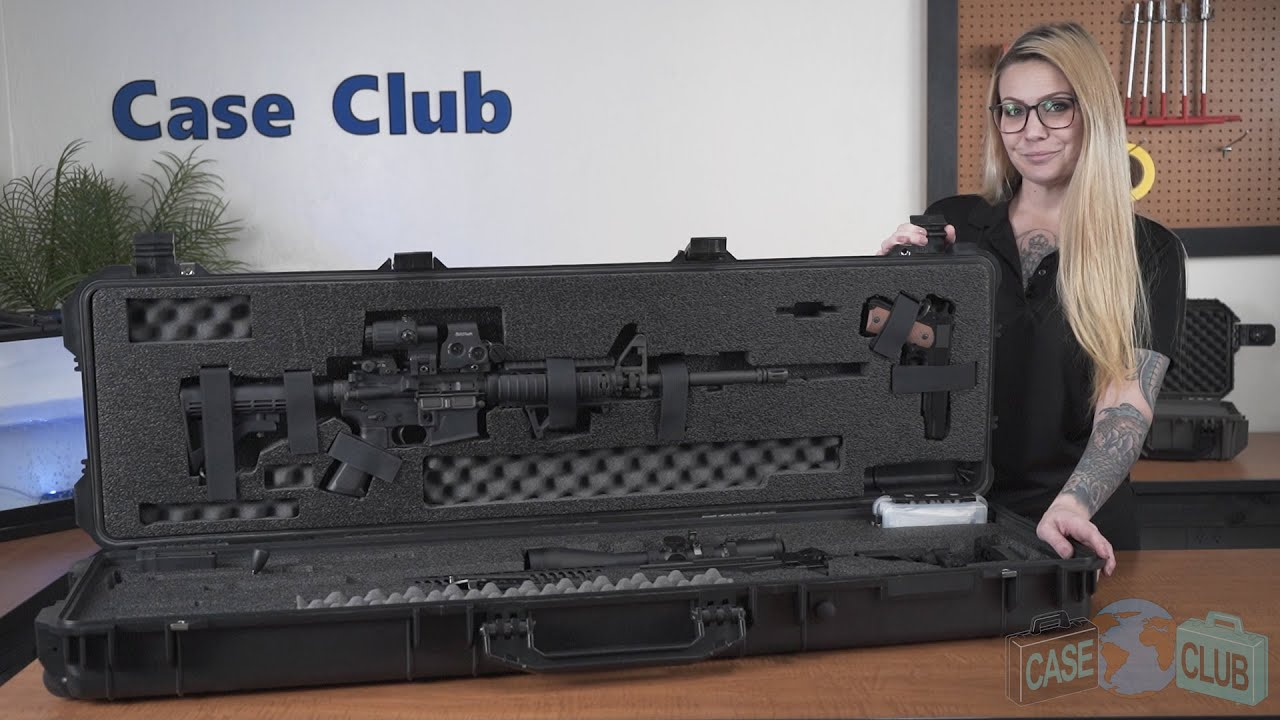 Case Club Precision & AR Rifle Case - Overview - Video