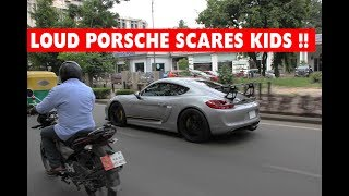 LOUD Porsche Cayman GT4 | Custom Exhaust | Accelerations and Flybys | #172
