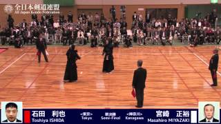 Ippons -Round3-FINAL - 13th All Japan Kendo 8-dan Tournament 2015