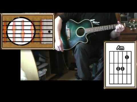 Against All Odds - Phil Collins - Acoustic Guitar Lesson