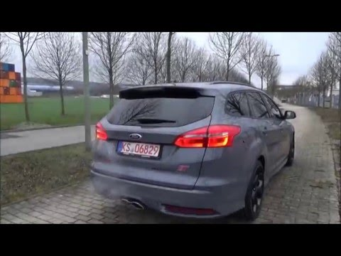 kurztest ford focus st turnier the probefahrtblog youtube. Black Bedroom Furniture Sets. Home Design Ideas