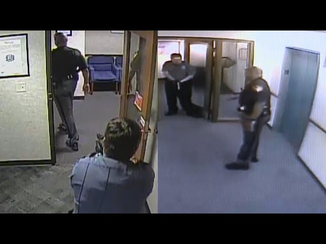 Standoff Between Deputy and Security Guard at IRS Office