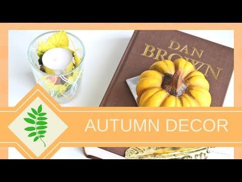 Styling for Autumn | Dekoracje do domu na jesień.