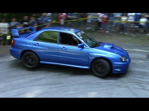 INSANE Subaru Impreza STI Climbing The Hill - Lovely Boxer Sound!