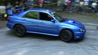 INSANE Subaru Impreza STI Climbing The Hill - Lovely Boxer Sound!