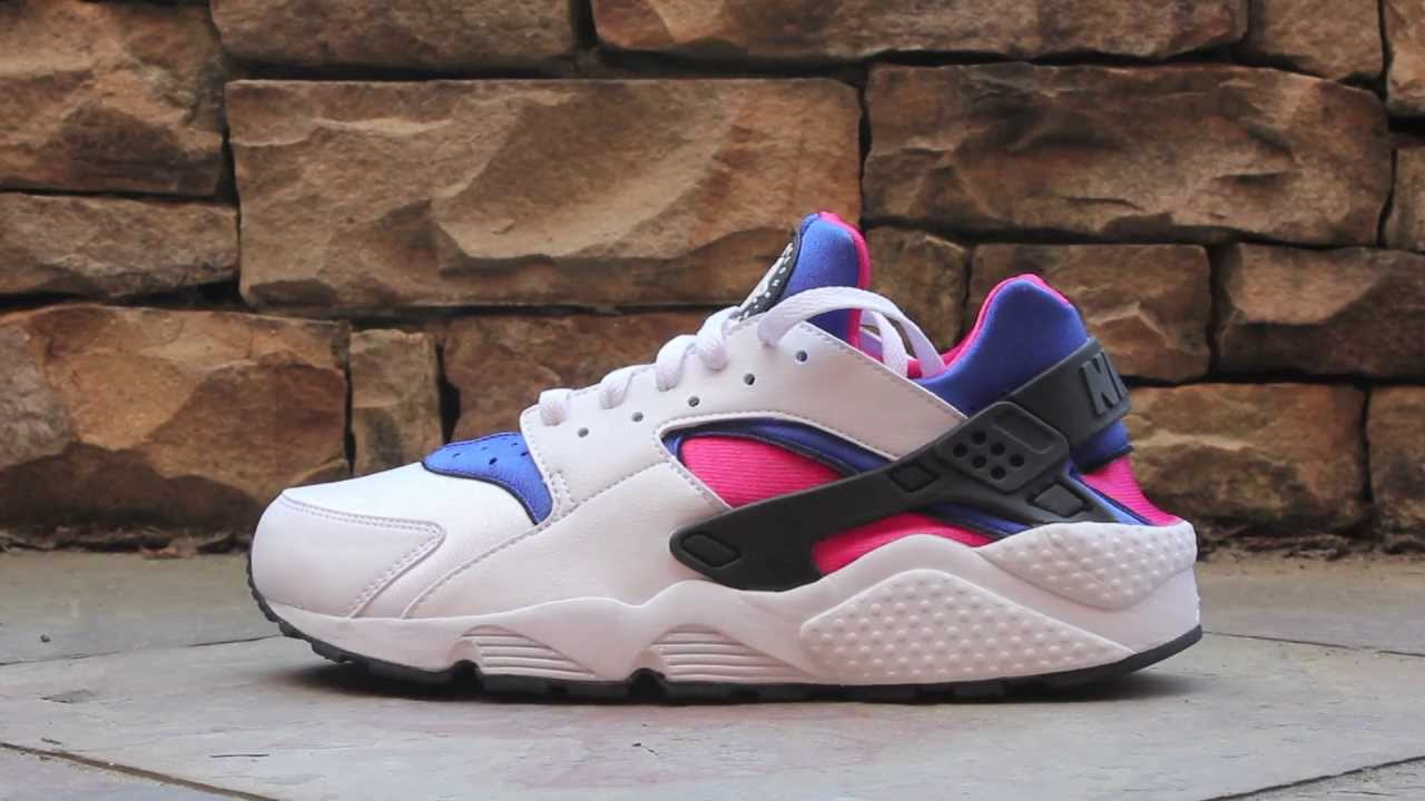6b74c345e46b Review  Nike Air Huarache - Game Royal Dynamic Pink - YouTube