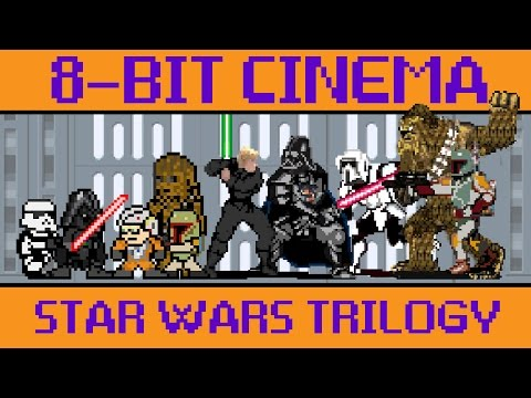 Star Wars Original Trilogy - 8 Bit Cinema