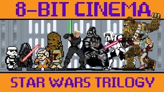 Star Wars Original Trilogy - 8 Bit Cinema(For the Final Episode of 8-Bit Cinema CineFix presents Star Wars Original Trilogy retold via old-school 8-bit (and a little 16 bit ;) game tech. No quarters or ..., 2015-12-19T06:07:59.000Z)