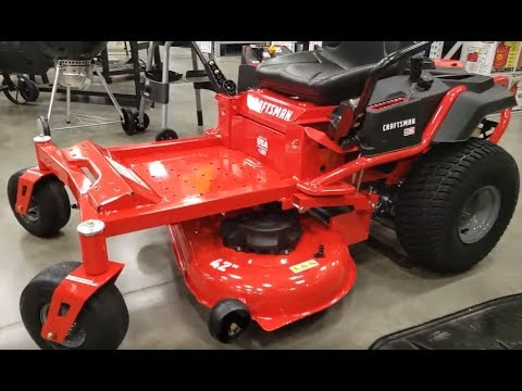 2019 Craftsman Mowers At Lowe S Youtube