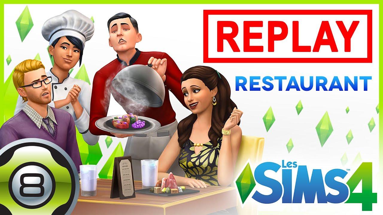 Die sims 4 gaumenfreuden release showcase restaurant gameplay pack - D Couverte Du Pack Au Restaurant 3 3 Famille Live Les Sims 4 Fr Replay Du 10 06 16