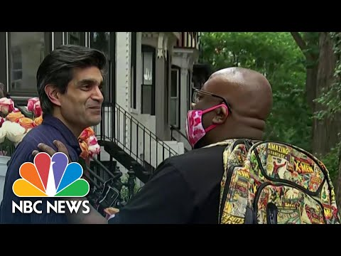 Washington D.C. Man Opens Home To George Floyd Protesters | NBC Nightly News