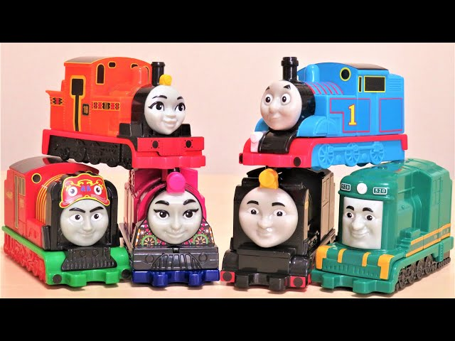 Thomas & Friends McDonald's Happy meal All 6 types RiChannel