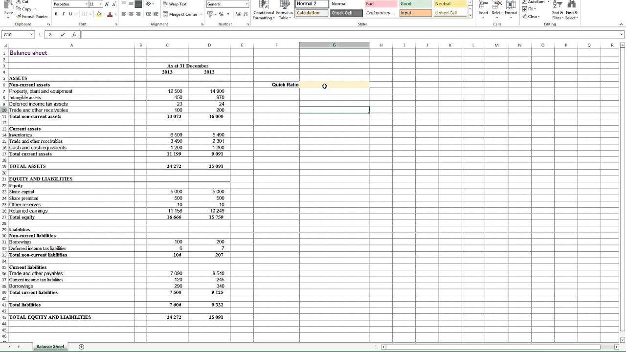 worksheet Debt To Income Ratio Worksheet calculating quick ratio in excel youtube