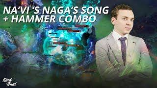 Na'Vi's Song of the Siren + Meteor Hammer COMBO