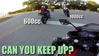300cc Bike Keeping Up with the Big Boys? - Yamaha R3