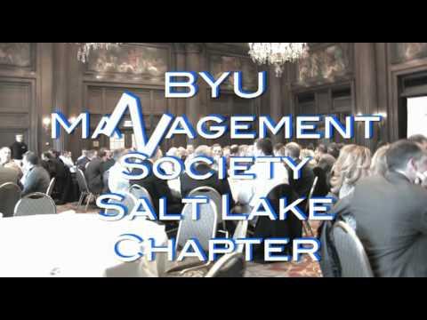 BYU Management Society - Salt Lake Chapter - Highlights