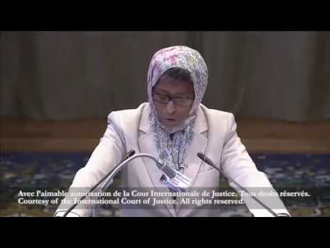 Full video. Somalia Kenya maritime dispute hearing at the ICJ Hague