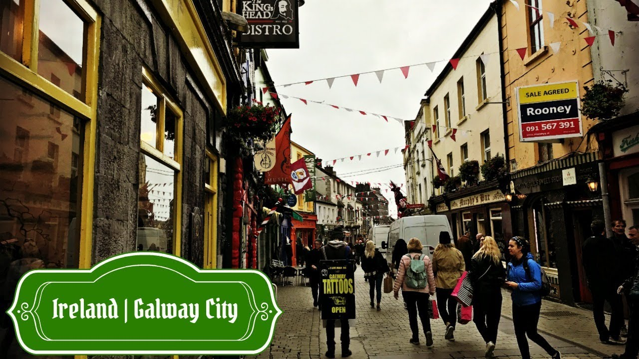 downtown galway ireland