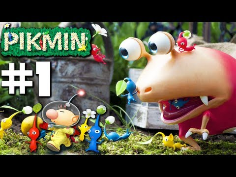 Pikmin - Smash Landing! - PART 1 (Nintendo Gamecube Gameplay Walkthrough)