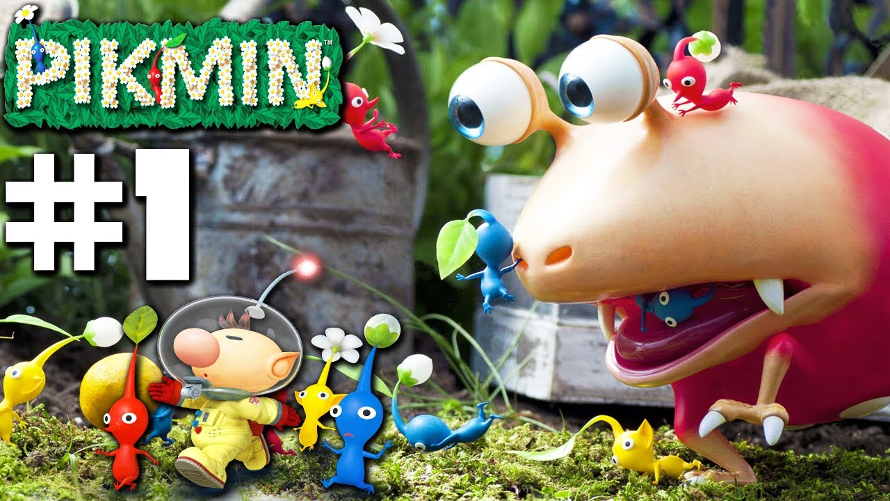 Pikmin Smash Landing Part 1 Nintendo Gamecube Gameplay Walkthrough Youtube