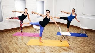 10-Minute Cardio Barre Workout
