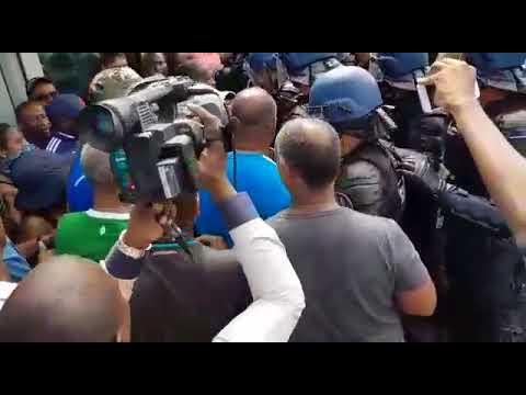 Guadeloupe : Intervention forces de l'ordre au centre pénitentiaire de Baie-Mahault