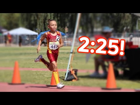 9-Year-Old Smashes 800m At New Vegas Track Meet