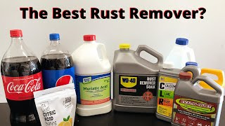 Which Rust Remover is Best?!