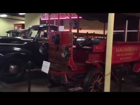 The Automotive Exhibit Section - Baltimore Museum Of Industry