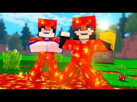 Minecraft: MUNDO L  - ARMADURAR DE LAVA - ‹ JUAUM › #08