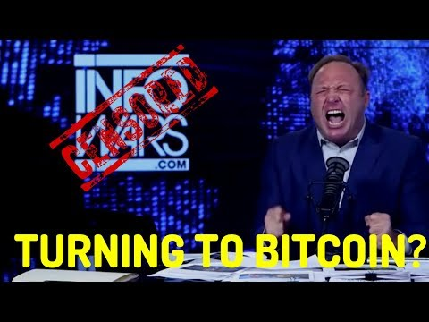 CUT OFF BY PAYPAL: Infowars & Alex Jones Turning to Bitcoin?? - Today's Crypto News