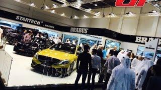 منصة برابوس في معرض دبي الدولي للسيارات 2015