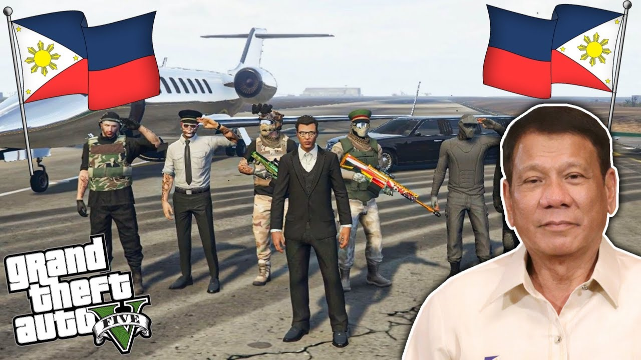 Being a PRESIDENT for a DAY sa GTA 5 ONLINE!! (gone wrong haha)