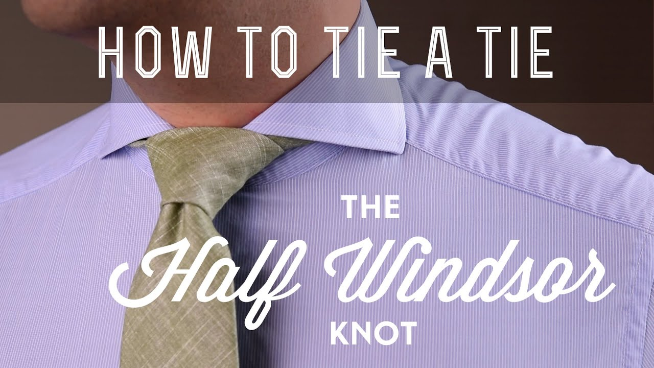 Half windsor knot how to tie what mistakes to avoid youtube ccuart Images