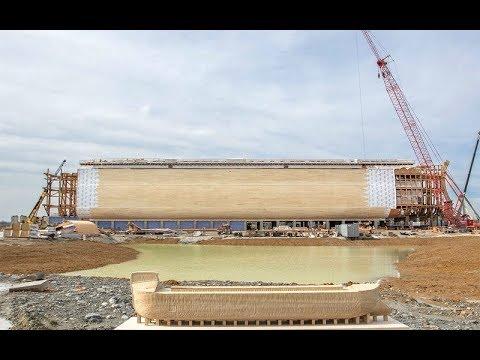Они построили точную копию Ноева ковчега. Заглянув внутрь, ты не поверишь своим глазам