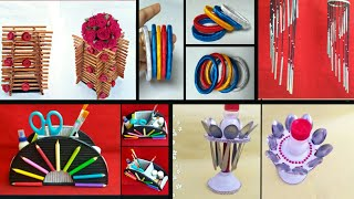 5 ideas of Newspaper craft | best out of waste craft idea | recycle newspaper | HMA##329