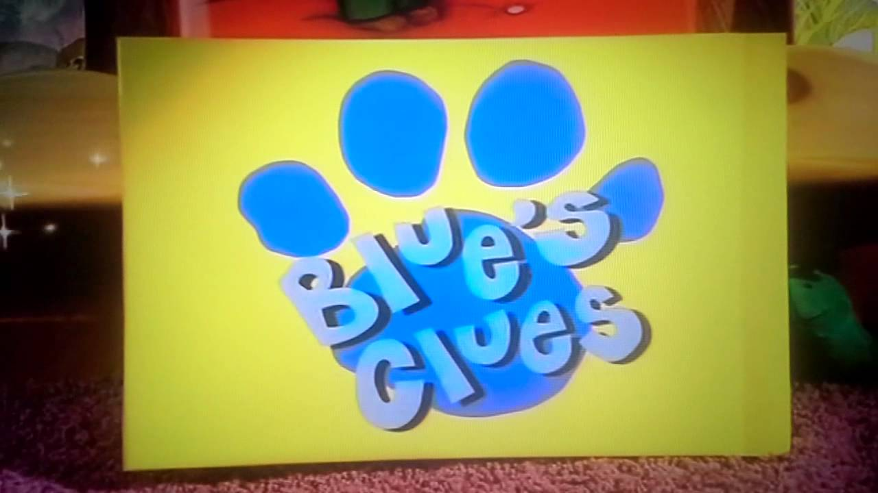 It is a photo of Priceless Blues Clues Image