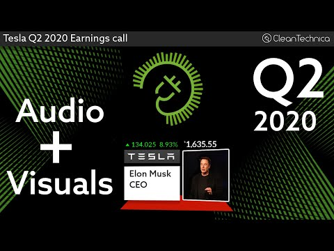 Tesla Q2 2020 Earnings Call (shortened fixed version)