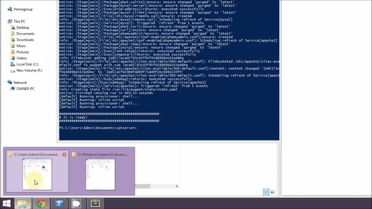 Setting Up A LAMP Web Development Environment On Windows