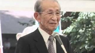 平成23年8/15戦歿者追悼中央集会(小野田寛郎氏)