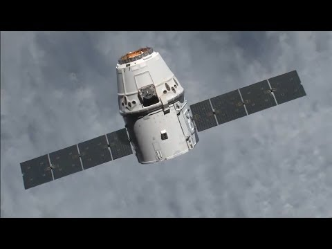 Space X Dragon CRS-11 ISS Arrival, Rendezvous And Capture - Live Mirror