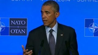 Obama: NATO united in defeating ISIS