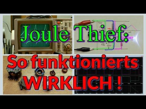 Joule Thief - So funktionierts wirklich !