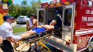 I Broke My Rib Cage *we Called An Ambulance*