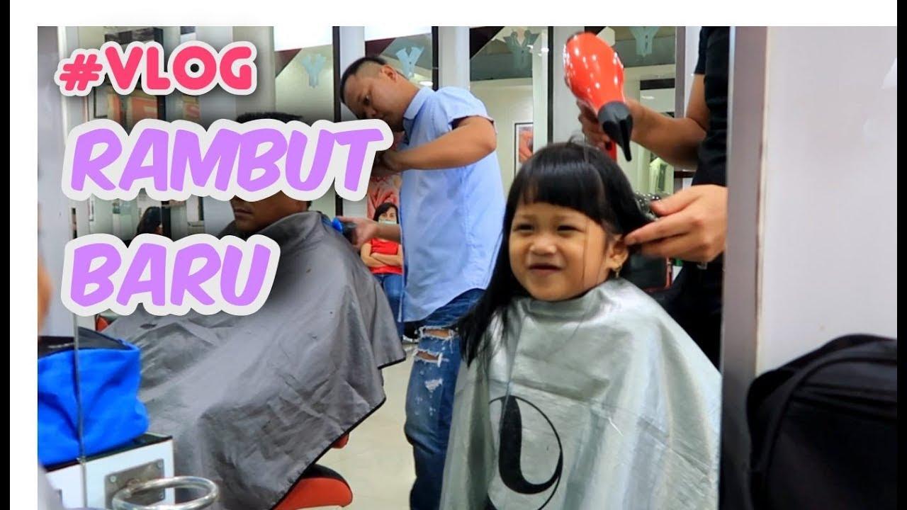 Vlog Hana Potong Rambut di Salon - Model Rambut Anak ...
